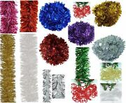 2m Luxury Chunky Tinsel Christmas Tree Decorations Garland Xmas Party Home
