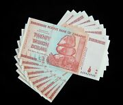 10 X Zimbabwe 20 Trillion Dollar Banknotes-2008/aa / About Unc Currency