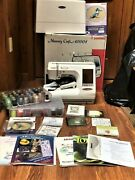 Janome Memory Craft 10001 Computerized Sewing/embroidery Machine W. Accessories