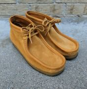 Clarks X Charles F Stead Limited 202/356 Wallabee Shoes Italy Menand039s 10m Euc Rare