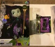 Lot Of 2 Disney D23 Expo 2019 Maleficent Animator Doll Le 700 And Ornament Le 504