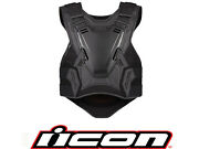2020 Icon Field Armor 3 Motorcycle Chest Protector Street Vest