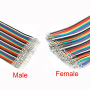 40p Dupont 2.54 Terminal Connector Cable Ribbon Jumper Wire F-f/m-m F-m 10-100cm
