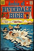 Archie At Riverdale High 3 1972 Fn A Chain Reaction Betty And Veronica