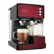 Mr. Coffee Cafe Varistor Espresso Maker With Automatic Milk Frother Bvmc- [n55]