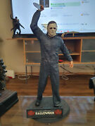 Extremely Rare Halloween Michael Myers Attacking Big Figurine Le Of 200 Statue