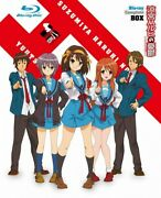 Used The Melancholy Of Haruhi Suzumiya Complete Box First Press Japanese Edition