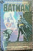 The Official Comic Adaptation Of The Warner Bros. Motion Picture -batman - 1989