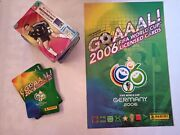 Panini Germany Goal 2006 Official Trading Cards. Complet. Brazilian Version.
