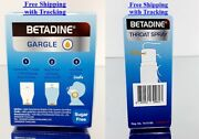 Betadine Gargle Sore Throat Spray Antiseptic Mouth Infection Oral Cough Cold