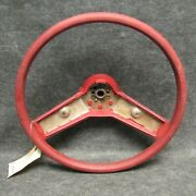 1977-1979 Chevy Impala And Nova Steering Wheel Burgundy Red 9761084 Rubber 51919