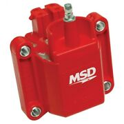 Msd 8226 Gm Dual Connection Ignition Coil For 01-02 Gmc C3500hd 8.1l New