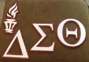 Delta Sigma Theta Sorority Wood Letters Full Bling All Letters Included