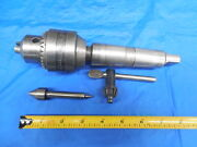 Rough Budget Priced Rohm Drill Chuck For Monarch Southbend Lathe Morse Taper 4