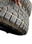 Used 2 Crosswind A/t Tires P285/70/r17 117t