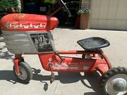 Vintage 50s Murray Trac Tractor Pedal Car