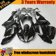For Kawasaki Ninja Zx6r 2007 2008 Motocycle Fairing Kit Bodywork Injection Black