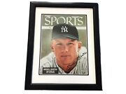 Mickey Mantle New York Yankees Signed Sports Illustrated Cover Framed Uda Coa