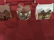 Wade Miniature Porcelain Village Whimsey-on-why 1980's Antiques Station Morgan