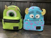 Disney Parks Loungefly Backpack Sulley And Mike Monster Inc.