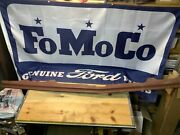 Nos 1964 Ford Galaxie 500 Country Squire Front Grill Stone Guard @ Bumper