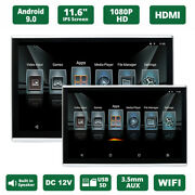11.6android 9.0 Car Headrest Monitor Touch Screen Wifi Bluetooth Usb Hdmi 1080p