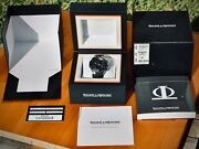 Baume And Mercier Riviera Xxl 8797 Chronograph Full Set With New Oem Strap