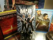 Will Smith 5 Dvd Sci-fi Lot - Men In Black + I Am Legend + Id4 + After Earth +