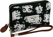 Womenand039s Wallet Betty Boop 7 Slot Cards Coin Purse 6 1/8x3 7/8x1in Women W