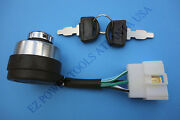 Lifan Equipsource Gas Engine Generator Electric Start Ignition Key Switch