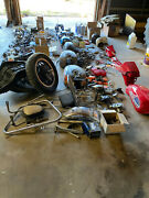 Motorcycle Parts---very Large Lot