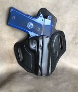 1911 Owb Full Size Lined Leather Pancake Holster By Etw Holsters...hickory, Nc