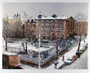 Jason Crum Underwood Park Lithograph Signed And Numbered In Pencil