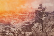 Roy Purcell Grand Canyon Iii Etching Signed And Numbered In Pencil