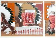 Ronald Jay Stein Lessons Of The Camp Screenprint Signed In Pencil