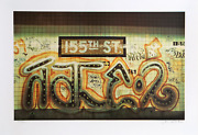 Jon Naar 155th Street From Faith Of Graffiti Screenprint Signed And Numbered