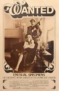 Unknown Artist - Poster Wanted Usual Specimens Bonnie And Clyde Poster