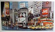 Ken Keeley Times Square Day Screenprint Signed In Pencil