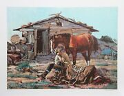 Noel Daggett, A Helping Nose, Lithograph, Signed And Numbered In Pencil