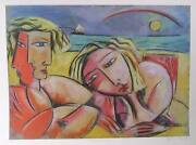 Graham Borough, Sydney Summer, Lithograph, Signed And Numbered In Pencil