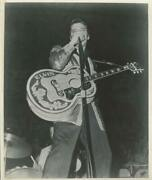 Unknown Artist, Elvis With Elvis Guitar, Reproduction Photograph