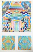 Perez Melero Barro Screenprint Signed And Numbered In Pencil