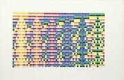 David Roth Untitled Ii Acrylic Painting On Arches Paper Signed And Dated
