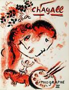 Marc Chagall Cover From Lithographe Iii Lithograph