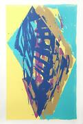 Darryl Hughto Oneida Screenprint Signed And Numbered In Pencil