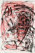Louisa Chase Untitled Mountain Lithograph Signed And Numbered In Pencil