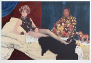 Steven Pollack Rie Miyazawa Olympia After Manet Lithograph And Superfine Gli