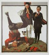 Norman Rockwell Cousin Reginald In Cut Out Vintage Poster Numbered And Titled