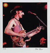 Alan Herr Zappa 2 Photograph Printed On Epson Signed And Numbered In Permanen