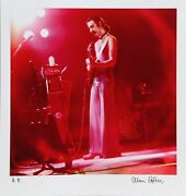Alan Herr Zappa 3 Photograph Printed On Epson Signed And Numbered In Permanen